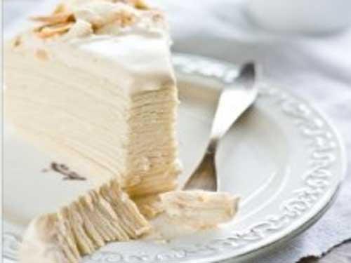 Медовый торт крем молочный
